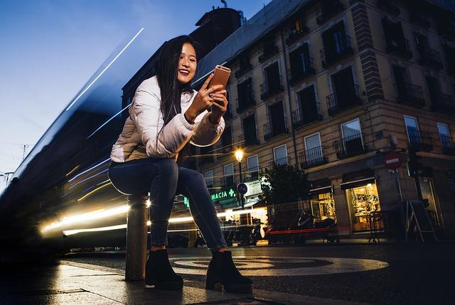 úsměv na mobil