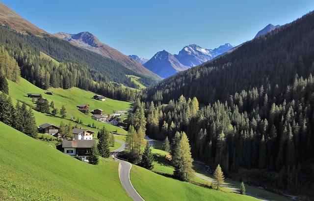 Švýcarská vesnička